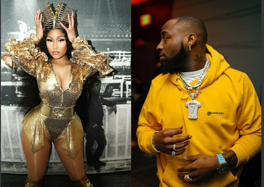 Davido Announces Collaboration With Nicki Minaj