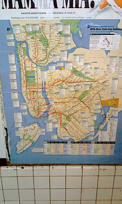 6  The NEW New York City Subway Map   Blogs   Archinect image