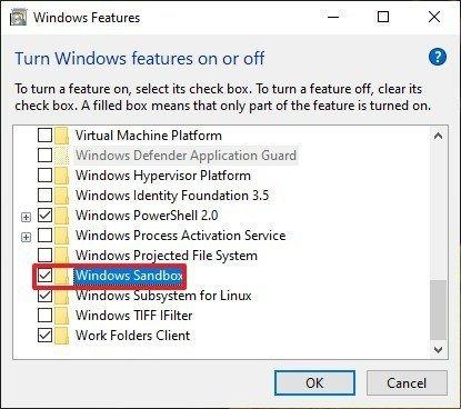 放弃VMware虚拟机啦,直接用win10沙盒爽歪歪