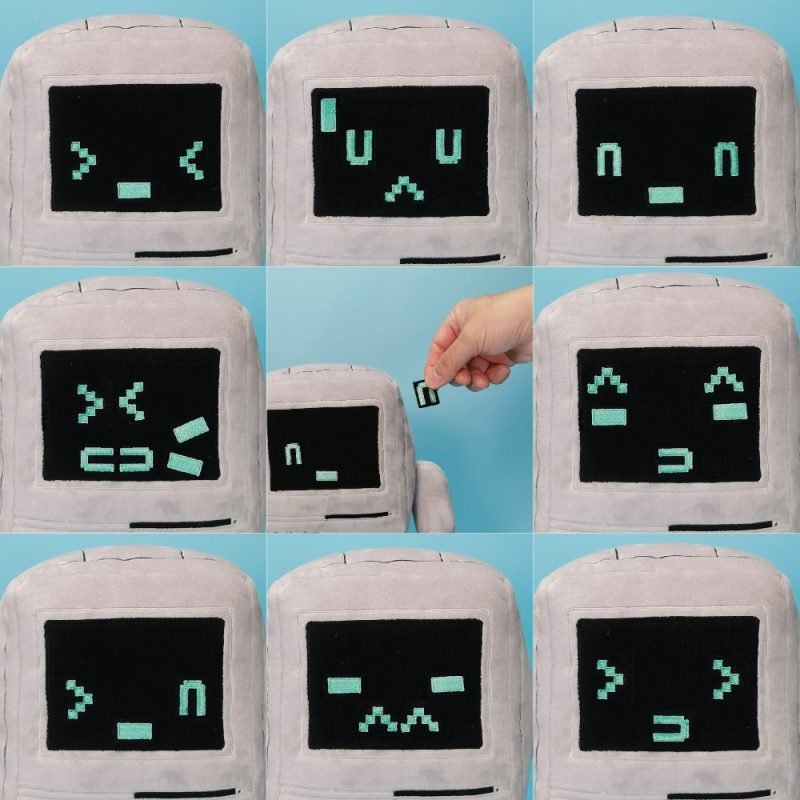 新的Classicbot毛绒让您体验经典Mac