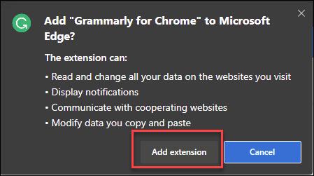 如何在Microsoft Edge中安装Google Chrome扩展程序