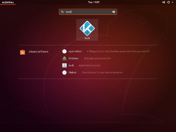 windows10系统上的Ubuntu上安装Kodi看万种影视音乐电台等