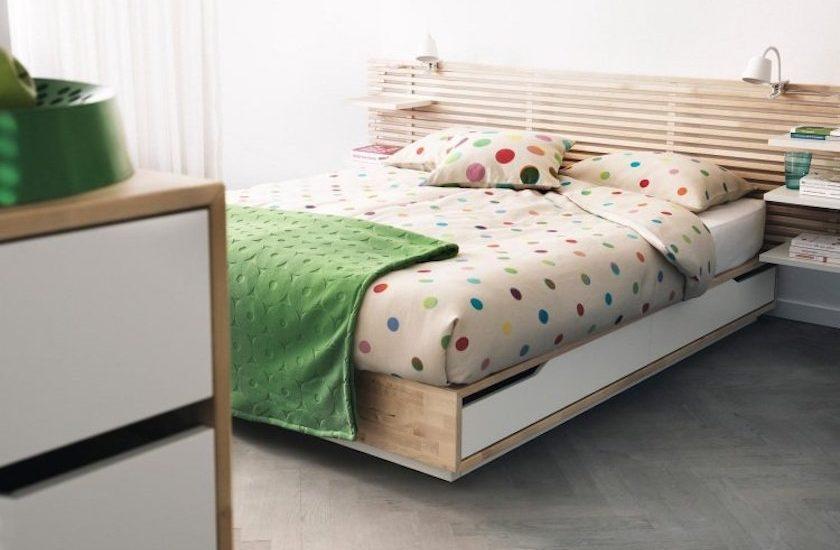 10 Idees Pour Transformer La Tete De Lit Ikea Mandal