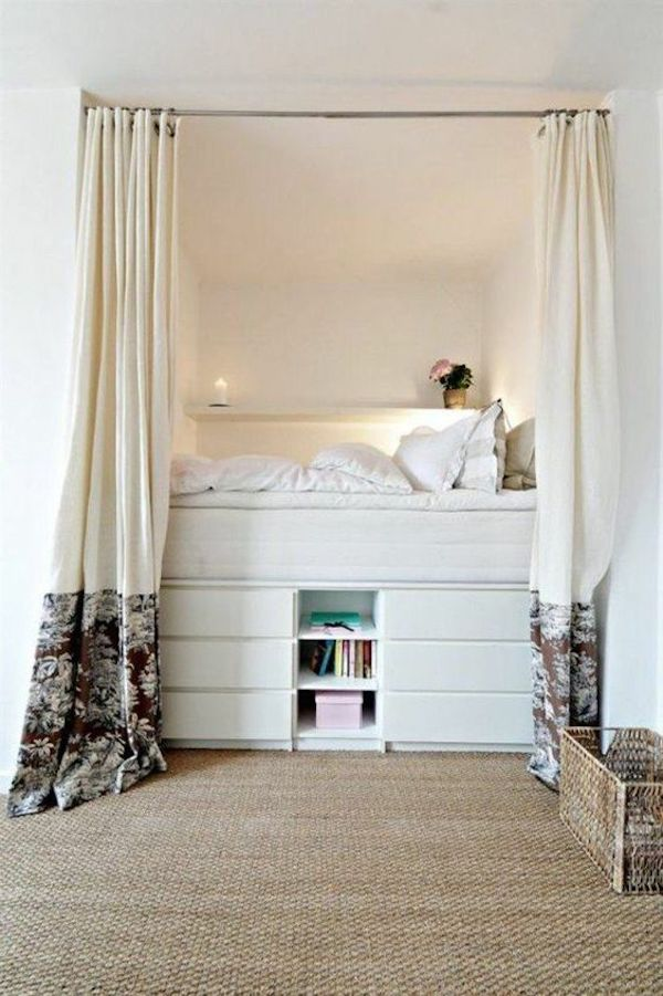chambre dans salon 5 astuces blog