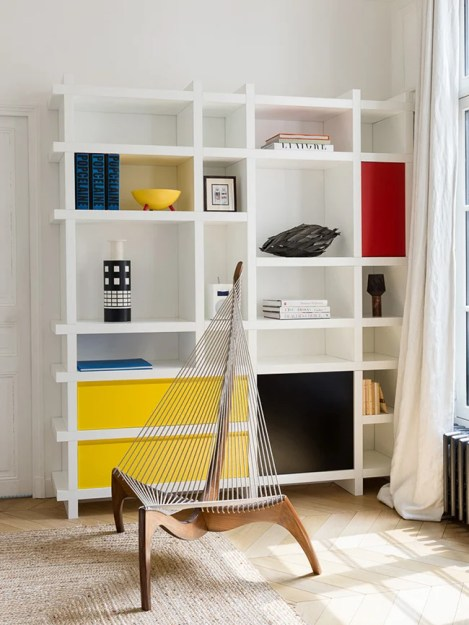 diy pied-à-terre parisian harp rope chair - decoration blog - Clem Around The Corner