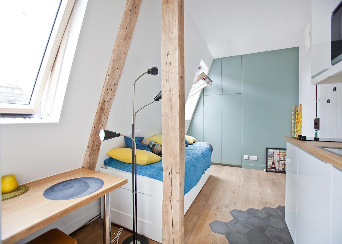 Transformer Une Chambre De Bonne En Studio Etudiant De 15m2