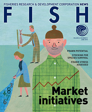 Front cover image of Fish June 2015