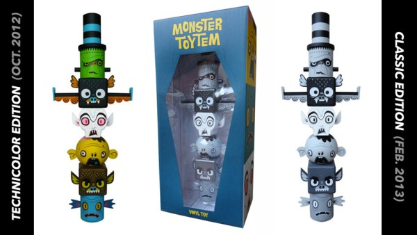 Gary Ham's Monster Toytems, Technicolor & Classic Editions