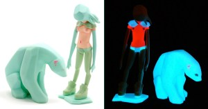 Ajee's Kosplay - GID / Glow-in-the-Dark edition of the figure