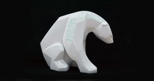 Ajee's Kosplay - Fresh to Death (Polar Bear), 150cm tall fiberglass version