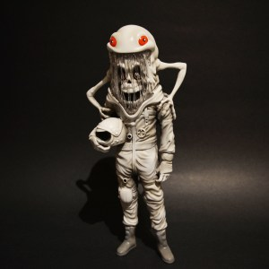Alex Pardee - ToyQube - The Astronaut - Abominable Edition