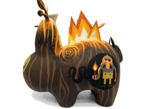 Amanda Visell's Burning Wood Labbit Custom, 2009