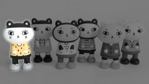 Andrea Kang's Boo Bear - Kang & Kato's Bedtime Bears series, Xs highlighted