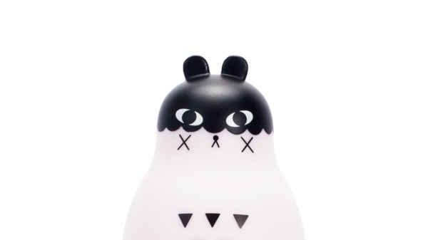 Andrea Kang's Boo Bear - the figure, facial detail (front)