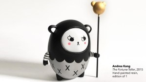 Andrea Kang's Boo Bear - Kang's The Fortune-Teller piece