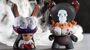 Tokyo Jesus' designs for Arcane Divination: The Lost Cards Dunny Series from Kidrobot