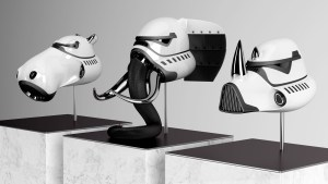 Blank William's The New Order: Hippo, Elephant & Rhino as Stormtrooper