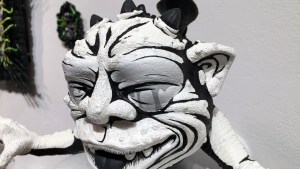 Jon-Paul Kaiser's Don't Look at Clutter Gallery's Boglins Custom Toy Show exhibition