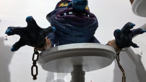 UME Toys' My Pet Boglin at Clutter Gallery's Boglins Custom Toy Show exhibition