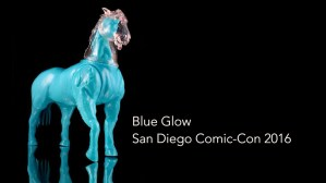 Boon Velvet's She Headless Horse, Blue Glow debut version