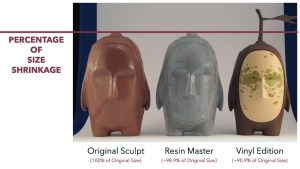 Brendan Monroe's Sour - Original sculpt, resin master & vinyl edition