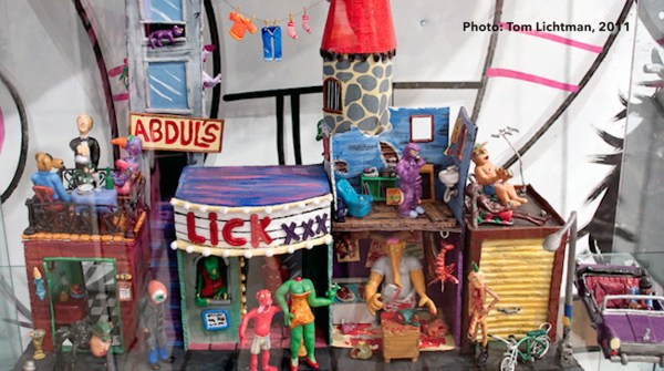 A Brief History of the Sucklord —Sculpy playset from Boo-Hooray exhibition