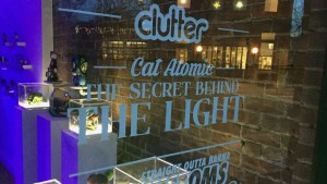 Cat Atomic's The Secret Behind the Light exhibition at the Clutter Magazine Gallery