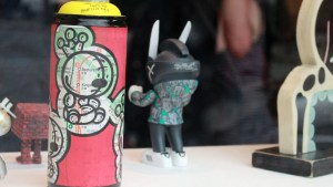 RWK's Cluttered Group Exhibition - KIDLEW's LUMPY BUMPKIN MTA SPRAYCAN