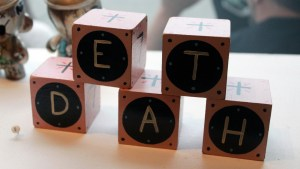 RWK's Cluttered Group Exhibition - Mike Egan's Death Blocks Set