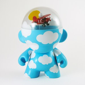 Clark's DayDream Studio - Flying High: Head in the Clouds Custom Munny (front)