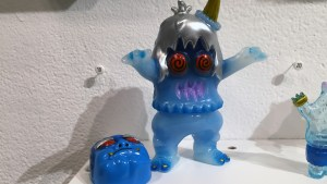Rampage Toys' Masked Snow Devil from Gift Wrapped 2016 at The Clutter Gallery