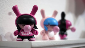 Lisa Rae Hansen's Babycakes Dunnys from Gift Wrapped 2016 at The Clutter Gallery