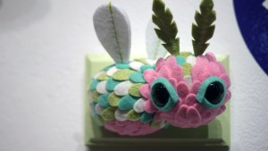 Horrible Adorables' Peppermint Fairy Bug from Gift Wrapped 2016 at The Clutter Gallery