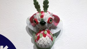 Horrible Adorables' Peppermint Fairy from Gift Wrapped 2016 at The Clutter Gallery