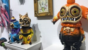 Brent Nolasco's works from Gift Wrapped 2016 at The Clutter Gallery