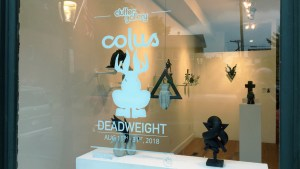 Colus Havenga's Deadweight - Window display