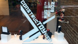 ConstrucTOYvism - Window Display