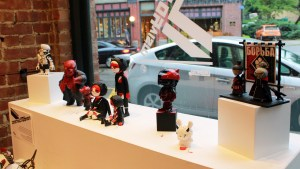 ConstrucTOYvism - Window display overview
