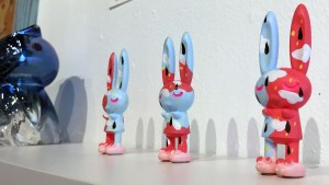 Peter Kato's Painted Bunnies at DAYP - Do As You Please