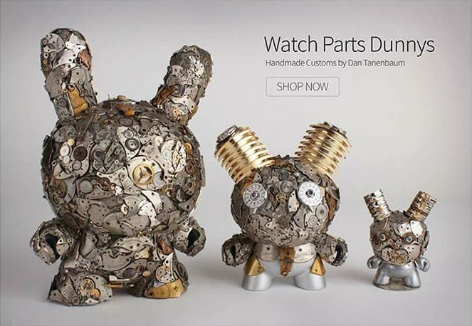 Watch Parts Motorcycles' Watch Parts Dunnys from Rotofugi