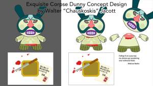Chauskoskis' Seppuku Exquisite Corpse Dunny Design Submission