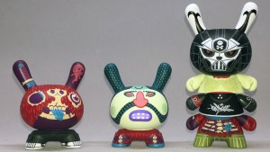 Red Mutuca Studios' Exquisite Corpse Dunny Series from Kidrobot