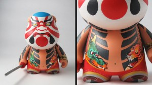 Gabriel Carpio's Kabuki inspired Munnyworld Bub