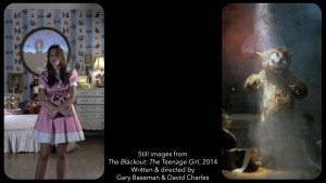 Stills from The Blackout: The Teenage Girl by Gary Baseman