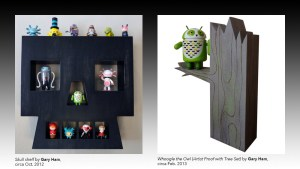 Gary Ham's Skull Shelf and Whoogle the Owl Android AP