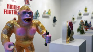 Hidden Fortress - Gold Kong by Rampage Toys (Atomic Kong figure by GEEK!)