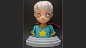 Hikari Shimoda's Children of This Planet sculpture from APPortfolio, front