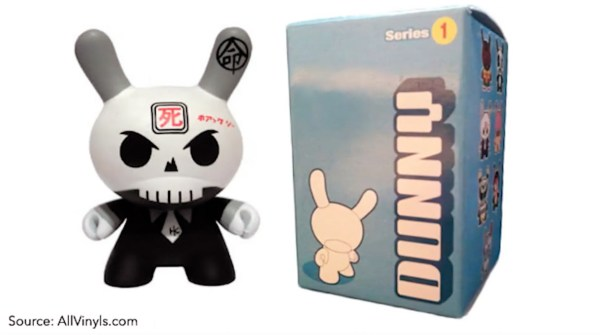 Huck Gee's Gold Life: Soul Collector Review —Dunny, Series 1: Skullhead