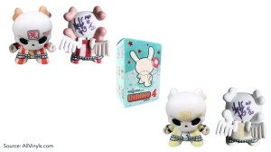 Huck Gee's Gold Life: Soul Collector Review — Dunny, Series 4: Skullhead