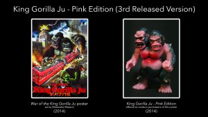 HxSaigansho's King Gorilla Ju - Pink Edition with Poster